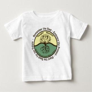Vaughn Family Reunion Baby Shirt Color Logo