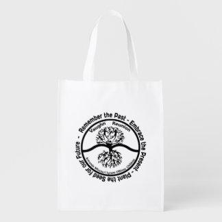Vaughn Family Reunion- Reusable bag B&W Logo