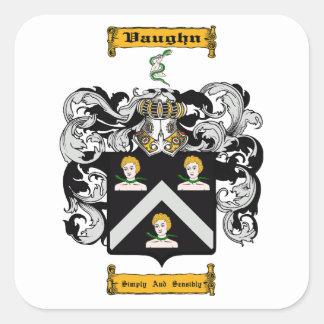 Vaughn Square Sticker
