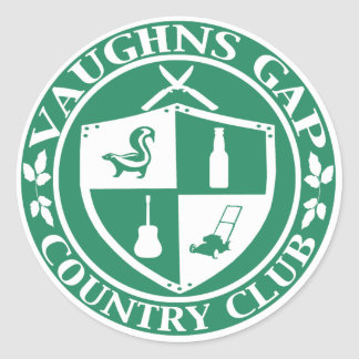 Vaughns Gap Country Club Sticker