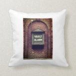 Vault Alarm Printed Pillow
