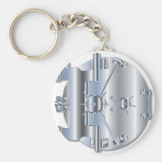 Vault Door Keychain
