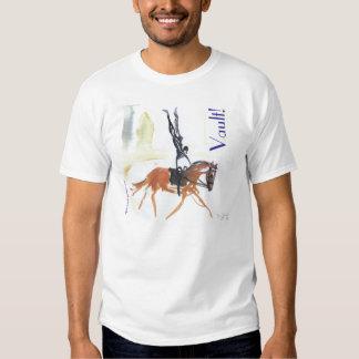 Vault!  Equestrian Vaulting 2 sided Tee Shirt