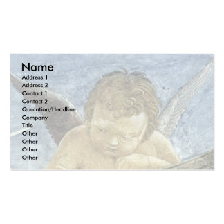 Vault Fresco  By Mantegna Andrea Double-Sided Standard Business Cards (Pack Of 100)