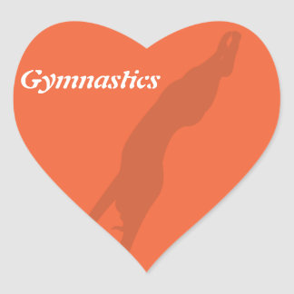 Vault Gymnastics Sticker