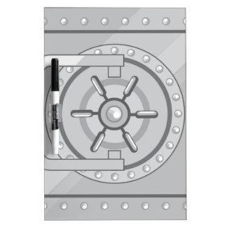 Vault Safe Dry Erase Board