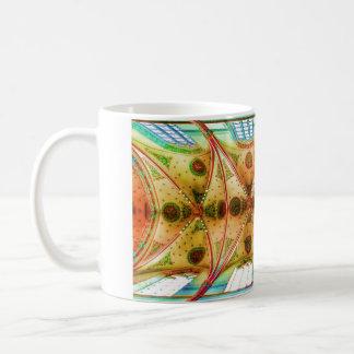 Vaulted church ceiling classic white coffee mug