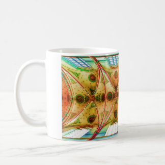 Vaulted church ceiling coffee mug