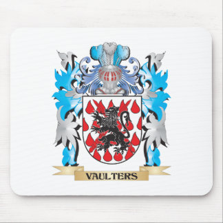 Vaulters Coat of Arms - Family Crest Mouse Pad