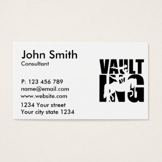 Vaulting Business Card