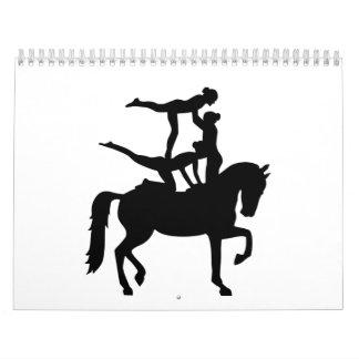 Vaulting horse calendar
