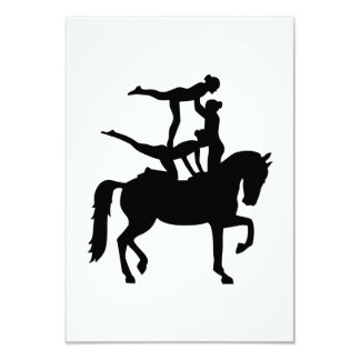 Vaulting horse card