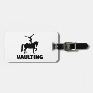 Vaulting Luggage Tag
