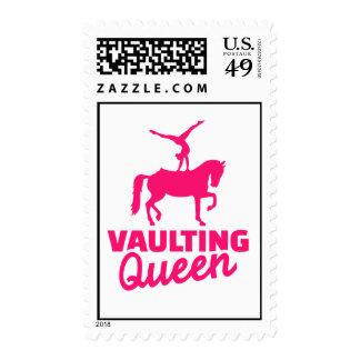 Vaulting queen postage
