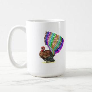 Vaulting Turkey Coffee Mug