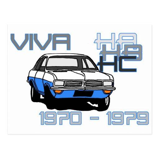 Vauxhall Viva HC Tarjetas Postales