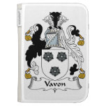 Vavon Family Crest Kindle Cover