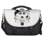 Vavon Family Crest Laptop Messenger Bag