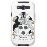 Vavon Family Crest Samsung Galaxy SIII Cases