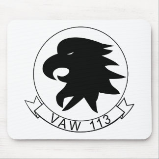 VAW-113 The World Famous Black Eagles Mouse Pad