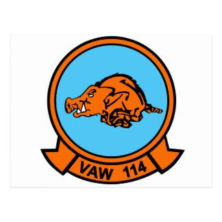 VAW-114 Razorback Postcard