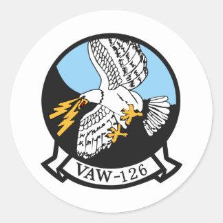 VAW-126 Seahawks Classic Round Sticker
