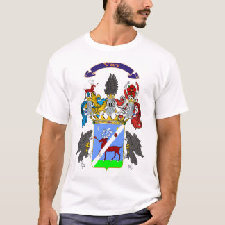 Vay Family Hungarian Coat of Arms T-shirt