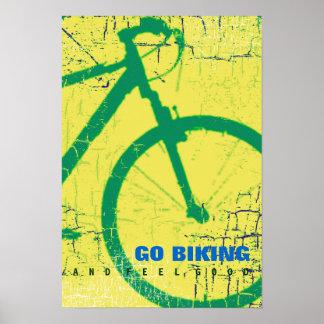 vaya a biking póster
