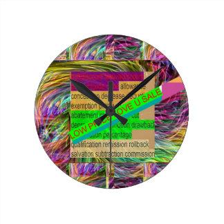 Vaya a HACER COMPRAS: Lleve un BOTÓN de CAMISA Reloj Redondo Mediano