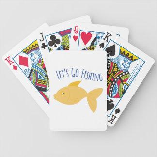 Vaya a pescar cartas de juego
