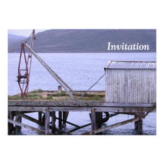 Vaya a pescar la invitación