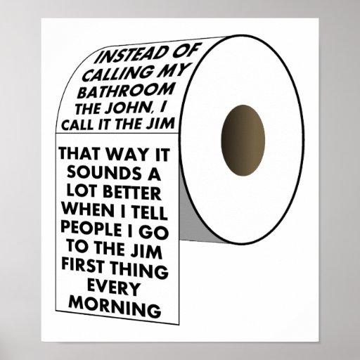 Vaya al poster divertido de Jim