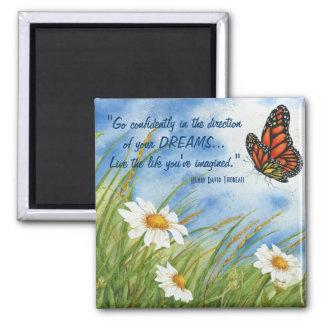 Vaya con confianza… - Imán de la mariposa de monar