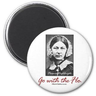 Vaya con Florence Nightingale Imán Redondo 5 Cm