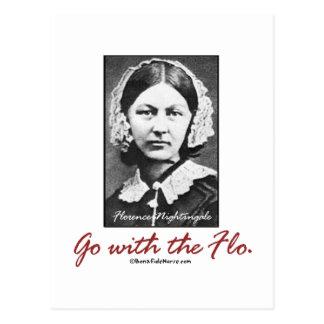 Vaya con Florence Nightingale Postales