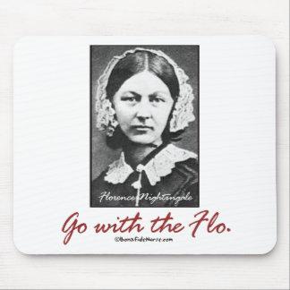 Vaya con Florence Nightingale Tapete De Ratones
