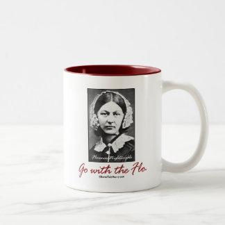 Vaya con Florence Nightingale Tazas De Café