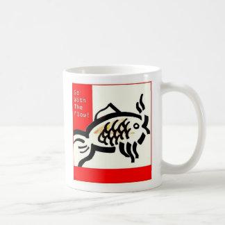 Vaya con la taza de café del flujo