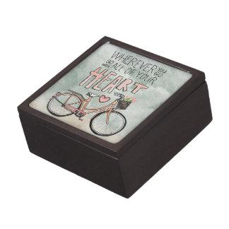 Vaya con todo su corazón - bicicleta del vintage cajas de regalo de calidad
