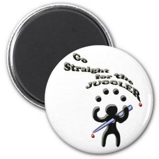 vaya derecho para el juglar imán redondo 5 cm