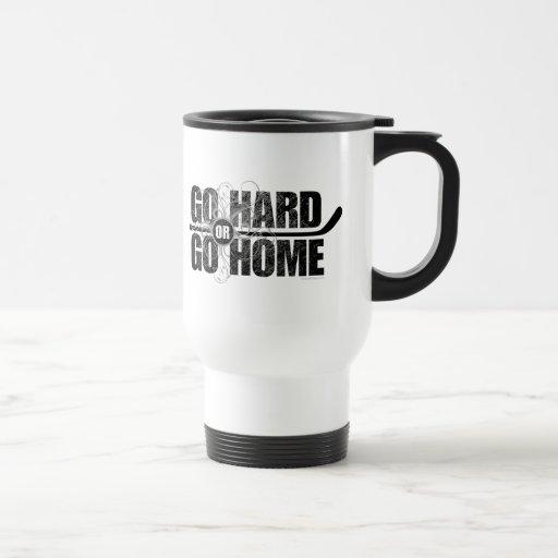 Vaya difícilmente o vaya a casa (el hockey) taza térmica