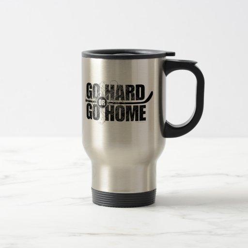 Vaya difícilmente o vaya a casa taza