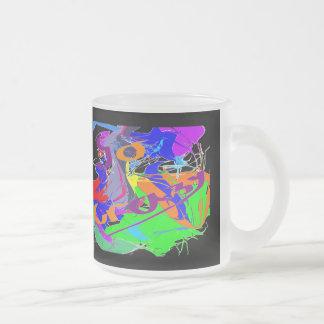 Vaya loco taza cristal mate