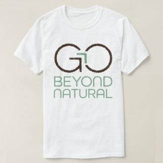 Vaya más allá de la camiseta natural polera