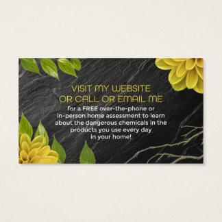 Vaya más allá de tarjetas de visita naturales