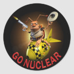 Vaya nuclear pegatina
