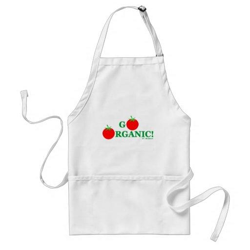 ¡VAYA ORGÁNICO! Delantal de cocinar orgánico
