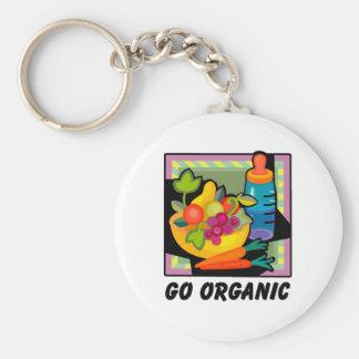Vaya orgánico llaveros