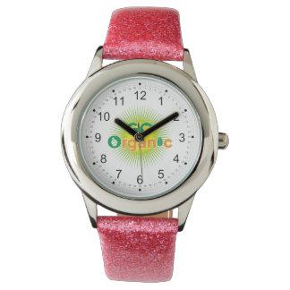 Vaya orgánico reloj de mano