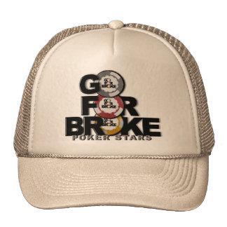 vaya para rompió el gorra del póker